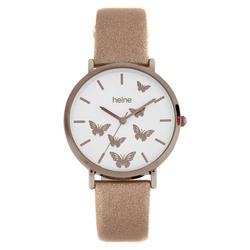Armbanduhr mit Schmetterlingen