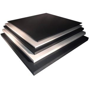 PVC Hart Platte Hartplatte 1500x700x4mm dunkelgrau