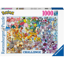 Ravensburger Puzzle Challenge - Pokémon™, 1000 Puzzleteile, Made in Germany