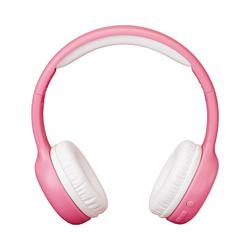 Lenco HPB-110BU - faltbarer Bluetooth Kopfhörer mit Kinder-Kopfhörer rosa