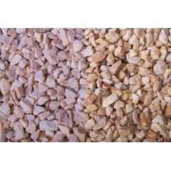 Edelsplitt Marmor Mandarin Splitt, 7-12, 250 kg Big Bag