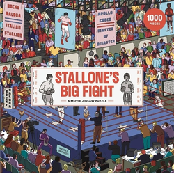 Stallone's Big Fight: A Fantastical Jigsaw Puzzle