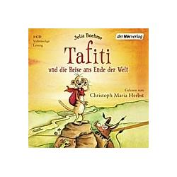 Tafiti - 1 - Tafiti und die Reise ans Ende der Welt - Hörbuch