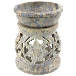 Guru-Shop Duftlampe Indische Duftlampe, ätherisches Öl Diffusor,.. Ø 7 cm x 7 cm x 8.5 cm x 7 cm