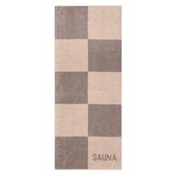 Cawö Saunatuch Sauna Karo (1-St), mit großen Karos