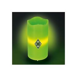 Borussia Mönchengladbach LED-Kerze, Echtwachskerze mit BMG-Logo