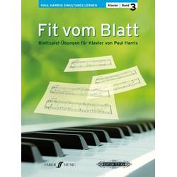 Fit vom Blatt Klavier. Bd.3
