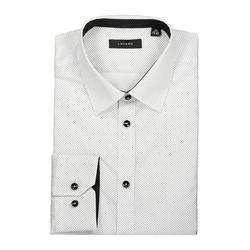 Lavard Weißes Hemd mit schwarzen Punkten 92897  39/164-170