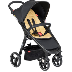 phil&teds smart™ V6 Kinderwagen 2019, Farbe: black