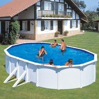 myPOOL Feeling Set 610 x 375 x 120 cm weiß inkl. Sandfilteranlage