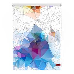 Rollo Klemmfix, ohne Bohren, blickdicht, Grafik - Bunt bunt Gr. 100 x 150