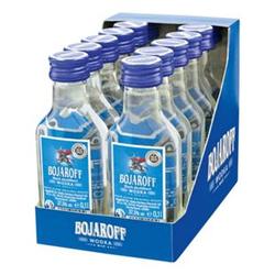 Bojaroff Wodka 37,5 % Vol. 100 ml, 12er Pack