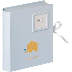 Walther Lernspielzeug Babybox Baby Animal, blau