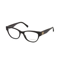 Versace VE 3287 GB1, inkl. Gläser, Cat Eye Brille, Damen