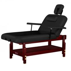 Massagetisch stationär MONTCLAIR mit Rückenlehne