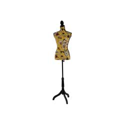 MCW Schneiderpuppe T223, Torso aus Fiberglas, Höhenverstellbar, Mit Stoff bespannt, Torso weiblich