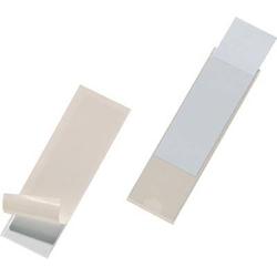 Durable Selbstklebetasche POCKETFIX - 8073 (B x H) 100mm x 30mm Transparent 10 St. 807319
