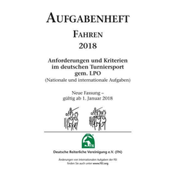 Aufgabenheft - Fahren 2018 (Nat./Int. Aufgaben)