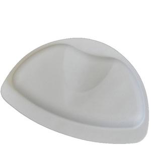 SANIMIX Badekissen, Nackenpolster, Wannenkissen, Nackenkissen für die Badewanne Größe: 30 x 21cm Farbe: Grau