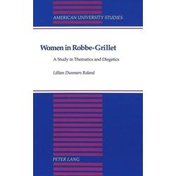 Women in Robbe-Grillet als Buch von Lillian Roland