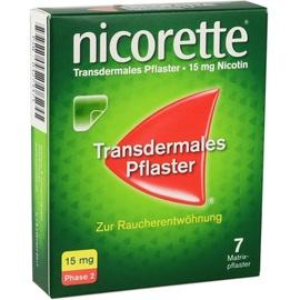 Nicorette TX 15 mg Pflaster 7 St.