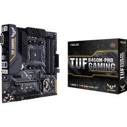 Asus TUF B450M-Pro Gaming Mainboard Sockel AMD AM4 Formfaktor Micro-ATX Mainboard-Chipsatz AMD® B45