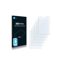 Savvies Schutzfolie für Nokia 3600 slide, (6 Stück), Folie Schutzfolie klar