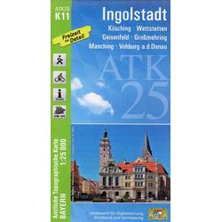 Ingolstadt 1 : 25 000