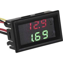 Joy-it VAM10010 Digitales Einbaumessgerät Spannungs- / Strommessgerät 0 bis 99V / 0 bis 9.99A