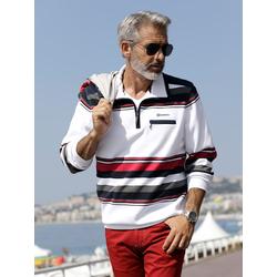 Sweatshirt BABISTA Weiß/Rot/Blau
