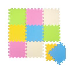 LittleTom Puzzlematte Baby Puzzlematte ab 0 Kinder Spielmatte Matte, 10 Puzzleteile, Krabbelmatte Weichbodenmatte