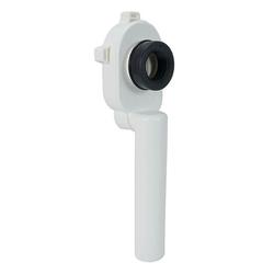 HAAS OHA PE-Urinal-Absaugsifon - Ablauf senkrecht - passend für DN 50 - mit Dichtung - 6290