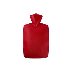 Hugo Frosch Wärmflasche, Wärmflasche Klassik 1,8 L rot