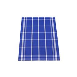 Ross Geschirrtuch in blau mit Karo-Muster