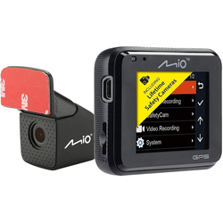 Mio Dashcam, 5,08 cm (2 zoll) Bildschirm Rückfahrkamera (Full HD, MiVue C380 Dual)