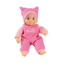 Smoby Babypuppe MinikKiss Puppe, rosa