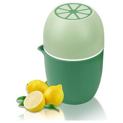 kueatily Zitruspresse Zitronenpresse Einzigartiger Zitronenpresse Manueller Entsafter mit zwei Pressoptionen für verschiedene Früchte grün