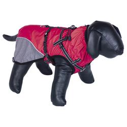 Nobby Hundemantel Akam mit Geschirr rot, Größe: 26 cm