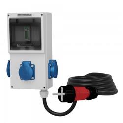 3x230V Mobiler Stromzähler MID 3x2.5mm2 Doktorvolt 4302