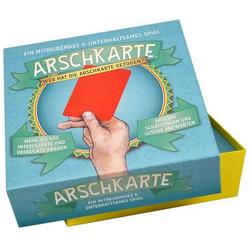 Arschkarte - Wer hat die Arschkarte gezogen? Kylskapspoesi Arschkarte - Wer hat die Arschkarte gezog