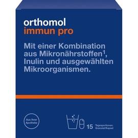 Orthomol Immun Pro Granulat / Kapseln 15 St.