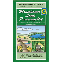 Monschauer Land - Rurseengebiet 1 : 25 000