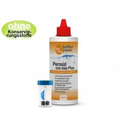 Peroxid one step Plus 1x 360ml NEU Kontaktlinsen Pflegemittel