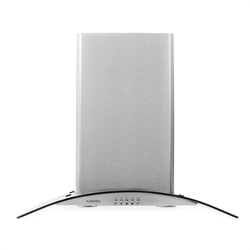 GL60WS Dunstabzugshaube Edelstahl 60cm 490m³/h