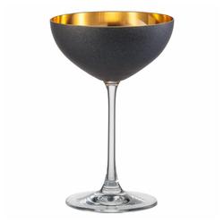 Eisch Dessertschale Cosmo Gold 250 ml, Kristallglas goldfarben