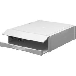 Stapelkassetten mit Ordnermechanik 38,4x29,7x9cm grau