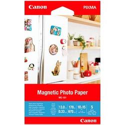 Canon Fotopapier MG-101 10,0 x 15,0 glänzend 670 g/qm 5 Blatt