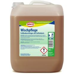 WECO Wischpflege, Fußbodenreiniger auf Seifenbasis für viele alkalibeständigen Böden, 10 Liter - Kanister