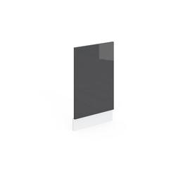 Vicco Frontblende Geschirrspülerblende 45 cm Küchenschrank Küchenzeile R-Line grau