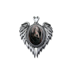 Adelia´s Amulett Cabochon Talisman, Angel Rose Cabochon